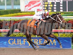 Tackleberry wins the 2011 Gulfstream Park Championship Sprint.