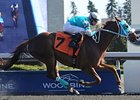 Essence Hit Man won the Jacques Cartier Stakes by nearly three lengths on April 7.