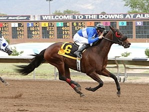 Our Choice wins the 2012 Casey Darnell Pony Express.