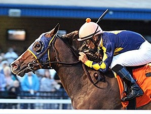 Living the Life wins the Presqu Isle Downs Masters Stakes.