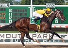 "Rachel Alexandra and Calvin Borel take the Lady's Secret by three lengths.<br><a target=""blank"" href=""http://www.bloodhorse.com/horse-racing/photo-store?ref=http%3A%2F%2Fpictopia.com%2Fperl%2Fgal%3Fprovider_id%3D368%26ptp_photo_id%3D9116822%26ref%3Dstory"">Order This Photo</a>"