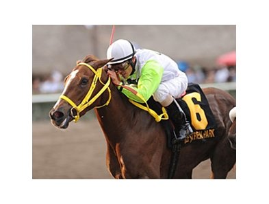 Yara won the Davona Dale at Gulfstream Park on February 25.