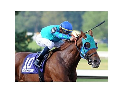 "Indescribable and Garrett Gomez take the Kentucky Cup Distaff the first of three graded stakes wins for Gomez. <br><a target=""blank"" href=""http://www.bloodhorse.com/horse-racing/photo-store?ref=http%3A%2F%2Fpictopia.com%2Fperl%2Fgal%3Fprovider_id%3D368%26ptp_photo_id%3D8510918%26ref%3Dstory"">Order This Photo</a>"