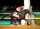 Fort Larned, Mucho Macho Man Work for Whitney