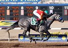 Midnight Lucky wins the Sunland Park Oaks.