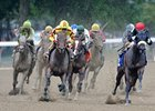 "Roman Treasure (right) led in the Test, before finishing third behind Turbulent Descent.<br><a target=""blank"" href=""http://www.bloodhorse.com/horse-racing/photo-store?ref=http%3A%2F%2Fpictopia.com%2Fperl%2Fgal%3Fprovider_id%3D368%26ptp_photo_id%3D9627502%26ref%3Dstory"">Order This Photo</a>"