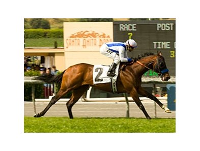 "Stoneside picks up his first U.S. victory in the San Simeon under Martin Pedroza.<br><a target=""blank"" href=""http://www.bloodhorse.com/horse-racing/photo-store?ref=http%3A%2F%2Fpictopia.com%2Fperl%2Fgal%3Fprovider_id%3D368%26ptp_photo_id%3D4230857%26ref%3Dstory"">Order This Photo</a>"