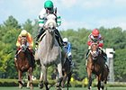 "Winter Memories leaves the others behind to win the Lake George.<br><a target=""blank"" href=""http://www.bloodhorse.com/horse-racing/photo-store?ref=http%3A%2F%2Fpictopia.com%2Fperl%2Fgal%3Fprovider_id%3D368%26ptp_photo_id%3D9618296%26ref%3Dstory"">Order This Photo</a>"
