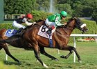 Winchester rallies to win the Sword Dancer.