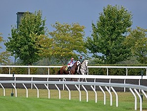 Groupie Doll at Keeneland.