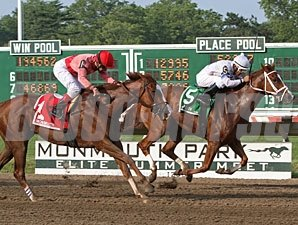 Lady Alexander wins the 2010 Red Cross Stakes.