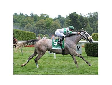"Winter Memories flies home to win the Diana at Saratoga.<br><a target=""blank"" href=""http://photos.bloodhorse.com/AtTheRaces-1/at-the-races-2012/22274956_jFd5jM#!i=1992632584&k=4DxGd5P"">Order This Photo</a>"