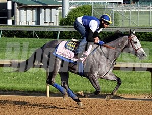 Midnight Lucky - Churchill Downs, May 1, 2013.