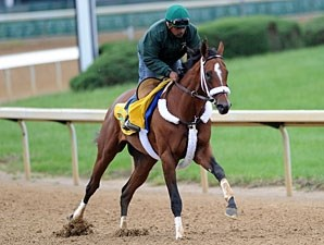 Mucho Macho Man Churchill Downs 04/26/11.