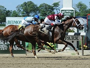 Villanesca wins the 2013 Magnolia Jackson Stakes.