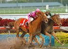 "Bsarpsonata (inside) outduels Keep the Peace to take the Forward Gal.<br><a target=""blank"" href=""http://www.bloodhorse.com/horse-racing/photo-store?ref=http%3A%2F%2Fpictopia.com%2Fperl%2Fgal%3Fprovider_id%3D368%26ptp_photo_id%3D3535251%26ref%3Dstory"">Order This Photo</a>"