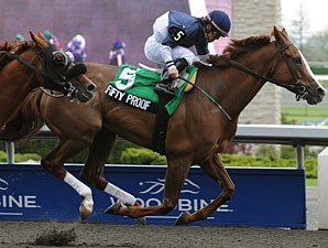 Fifty Proof wins the 2011 Eclipse Stakes.