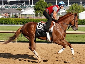 Dullahan - Churchill Downs, April 18, 2012.