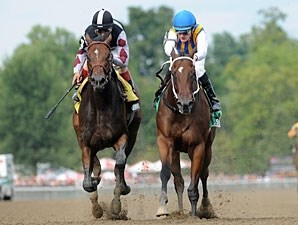 My Miss Aurelia wins the 2011 Adirondack.