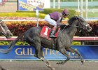 "Jackson Bend streaks home to win the Hal's Hope at Gulfstream.<br><a target=""blank"" href=""http://www.bloodhorse.com/horse-racing/photo-store?ref=http%3A%2F%2Fpictopia.com%2Fperl%2Fgal%3Fprovider_id%3D368%26ptp_photo_id%3D9799139%26ref%3Dstory"">Order This Photo</a>"