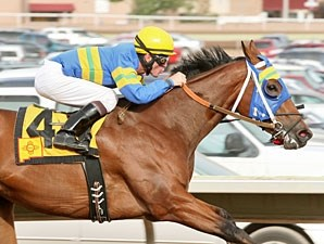 Storms Surprise wins The George Maloof Futurity.