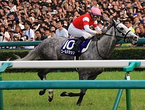 Gold Ship wins the Takarazuka Kinen at Hanshin in Japan.