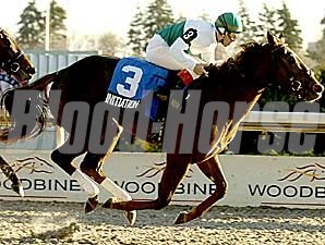 Initiation winning the Glorious Song at Woodbine