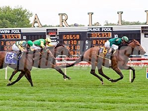 Gio Ponti wins the 2009 Arlington Million.
