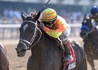 "Her Smile makes her 2012 debut in the Hurricane Bertie.<br><a target=""blank"" href=""http://www.bloodhorse.com/horse-racing/photo-store?ref=http%3A%2F%2Fpictopia.com%2Fperl%2Fgal%3Fprovider_id%3D368%26ptp_photo_id%3D9586390%26ref%3Dstory"">Order This Photo</a>"