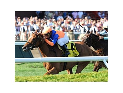 Zagora won the 2011 Diana Stakes.