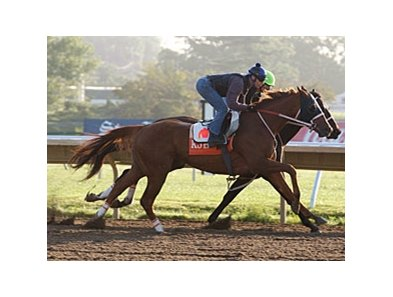 Ruler On Ice worked four furlongs in :48 3/5 at Monmouth.