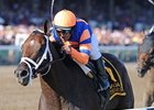 "Jim Dandy winner Stay Thirsty<br><a target=""blank"" href=""http://www.bloodhorse.com/horse-racing/photo-store?ref=http%3A%2F%2Fpictopia.com%2Fperl%2Fgal%3Fprovider_id%3D368%26ptp_photo_id%3D9621127%26ref%3Dstory"">Order This Photo</a>"