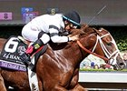 "Take Charge Brandi <br><a target=""blank"" href=""http://photos.bloodhorse.com/BreedersCup/2014-Breeders-Cup/Juvenile-Fillies/i-5xvQ8Rn"">Order This Photo</a>"