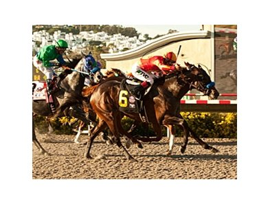 Drill takes the Del Mar Futurity on closing day at Del Mar.