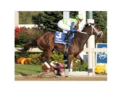 Juanita dominates the Indiana Oaks.
