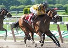 "Cat Moves makes her first start in seven months in the My Juliet Stakes.<br><a target=""blank"" href=""http://www.bloodhorse.com/horse-racing/photo-store?ref=http%3A%2F%2Fpictopia.com%2Fperl%2Fgal%3Fprovider_id%3D368%26ptp_photo_id%3D8298602%26ref%3Dstory"">Order This Photo</a>"