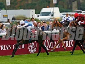 Goldikova wins the 2010 Qatar Prix de la Foret.