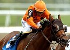 Fatal Bullet, shown winning the Bold Venture at Woodbine