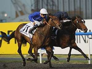 Khawlah wins the 2011 UAE Derby.