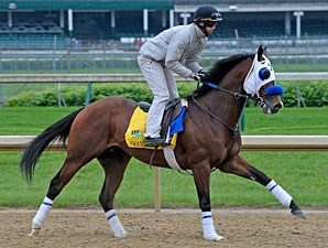 Sway Away jogging at Churchill Downs 5/4/2011.