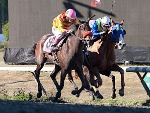 Ole's Miss wins the British Columbia Oaks.