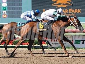 Halifax Flyer wins the 2011 Texas Stallion Stakes (Stymie Division).