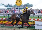 "Preakness winner Rachel Alexandra takes on 4 in the Mother Goose.<br><a target=""blank"" href=""http://www.bloodhorse.com/horse-racing/photo-store?ref=http%3A%2F%2Fpictopia.com%2Fperl%2Fgal%3Fprovider_id%3D368%26ptp_photo_id%3D8118025%26ref%3Dstory"">Order This Photo</a>"