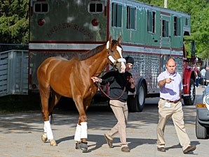 Giant Finish arrives at Churchill Downs May 2, 2013