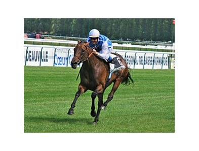 Goldikova winning the Prix Rothschild.