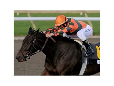Biofuel upsets the field in the Mazarine at Woodbine.