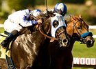 "Skipshot (left) overtakes favorite Sidney's Candy to win the Swaps.<br><a target=""blank"" href=""http://www.bloodhorse.com/horse-racing/photo-store?ref=http%3A%2F%2Fpictopia.com%2Fperl%2Fgal%3Fprovider_id%3D368%26ptp_photo_id%3D9110119%26ref%3Dstory"">Order This Photo</a>"