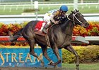 "Noonmark in the Mr. Prospector Handicap.<br><a target=""blank"" href=""http://www.bloodhorse.com/horse-racing/photo-store?ref=http%3A%2F%2Fpictopia.com%2Fperl%2Fgal%3Fprovider_id%3D368%26ptp_photo_id%3D3215430%26ref%3Dstory"">Order This Photo</a>"
