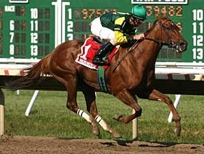 Hystericalady easily wins the Molly Pitcher (gr. II).