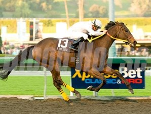 M One Rifle wins the 2009 Malibu Stakes.
